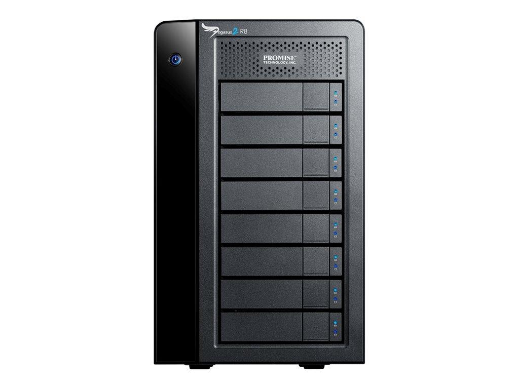 Promise Pegasus2 R8 24TB (8 X 3TB) Thunderbolt 2 RAID Storage P2R8HD24US