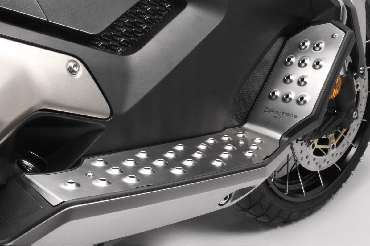 Kit Repose Pieds R-0824 Visserie Incluses - 100/% Made in Italy Accessoires De Pretto Moto XADV 2017//20 - Marchepieds P/édales Repose-pieds Acier Inoxydable DPM Race
