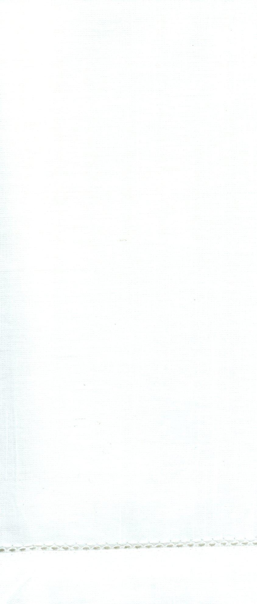 Hemstitch Dinner Napkins White 1 Dozen by Something Different Linen by Something Different Linen (Image #3)