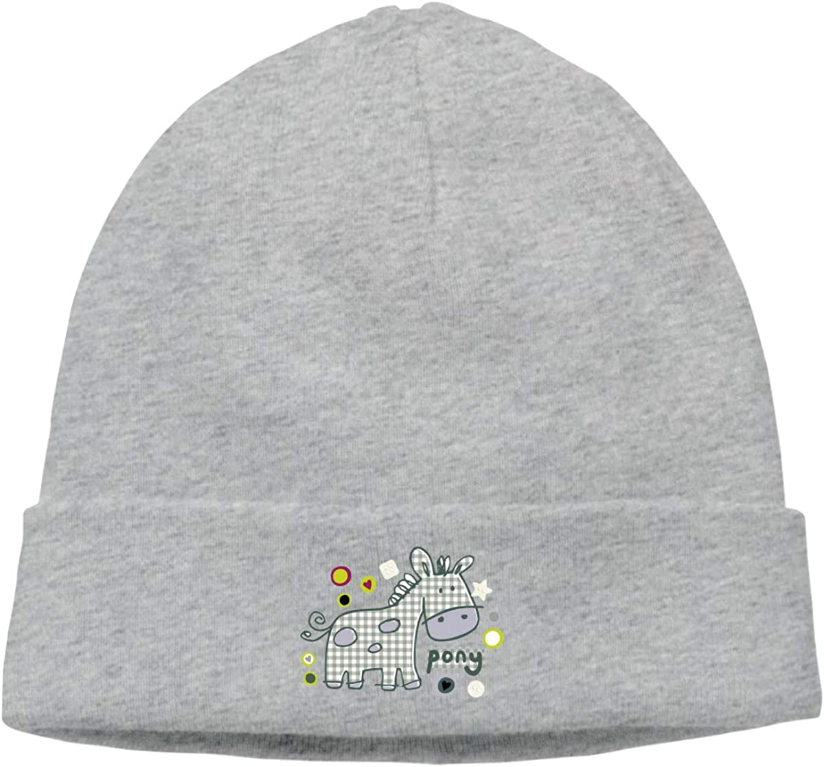 Nskngr A Lovely Mule Men Women Warm Skull Cap