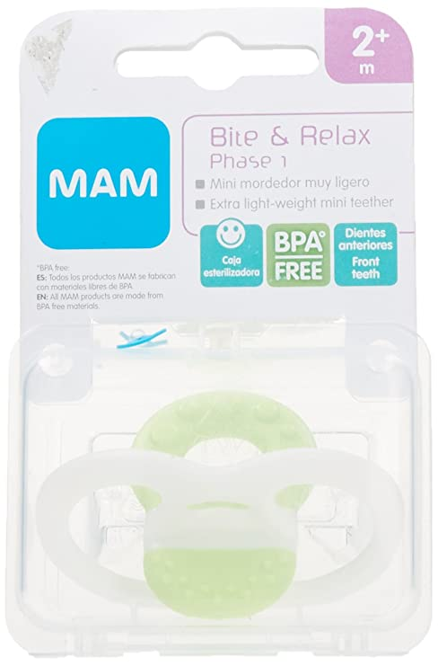 MAM - Mordedor Bite & Relax Mam 2m+