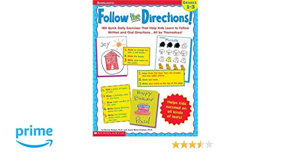 Follow the Directions! 180 Quick Daily Exercises That Help