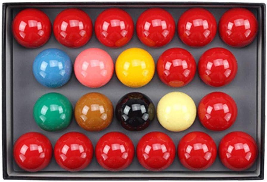 ZXH Snookerビリヤードボール、クリスタルボール2 1/16インチ(52.5MM)スタンダードスヌーカービリヤード用品アクセサリー