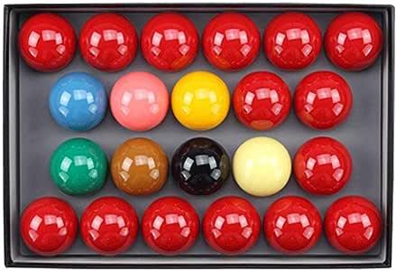 ZXH Bolas de Billar, Bola de Cristal 2 1/16 Pulgadas (52.5 mm ...