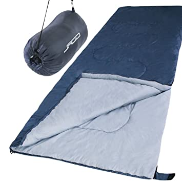 Jago - Saco de Dormir para hasta -2°C, Aprox. 210/85 cm Elegir: Amazon.es: Deportes y aire libre