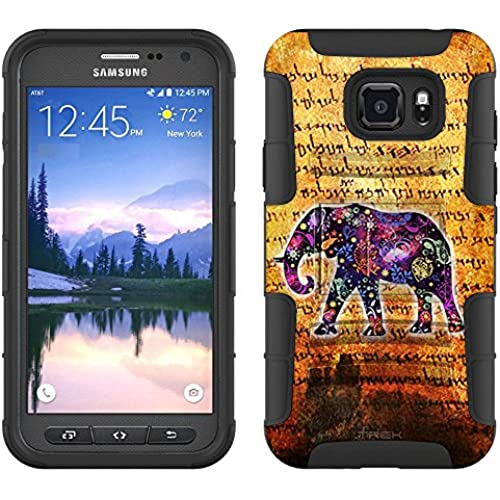 Samsung Galaxy S7 Active Armor Hybrid Case Ancient Elephant 2 Piece Case with Holster for Samsung Galaxy S7 Active Sales