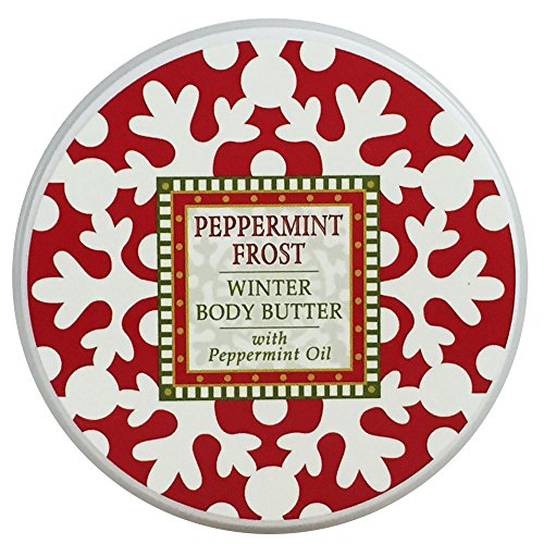 Greenwich Bay PEPPERMINT FROST Body Butter, Christmas and Ho