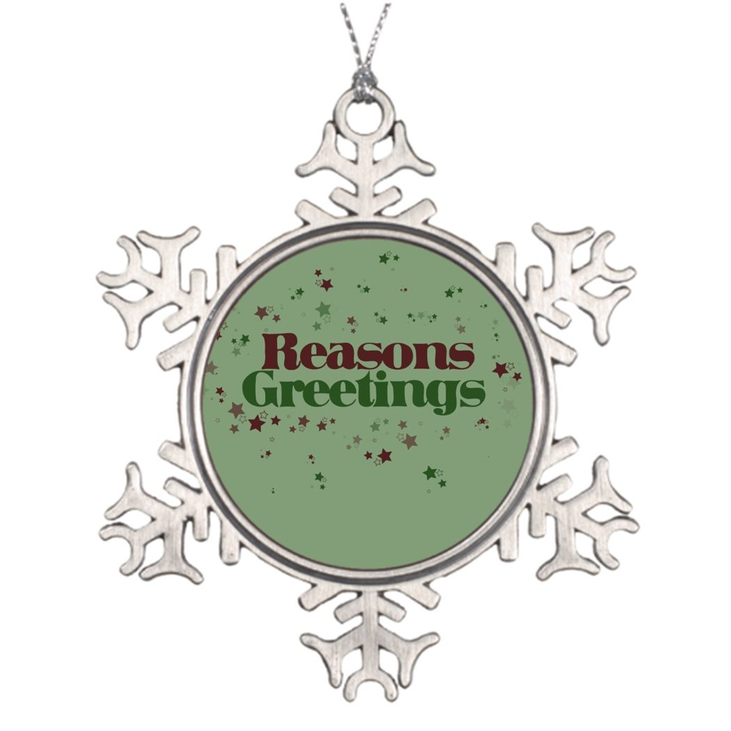 Amazon tperse8 christmas decoration atheist reasons greetings amazon tperse8 christmas decoration atheist reasons greetings funny christmas tree snowflake ornaments home kitchen kristyandbryce Gallery