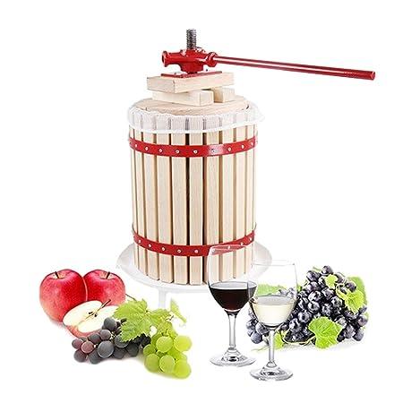 Compra Prensa de 30 litros para fruta incl. prensa de prensado, prensa de mosto, prensa de vino, prensa de manzanas en Amazon.es