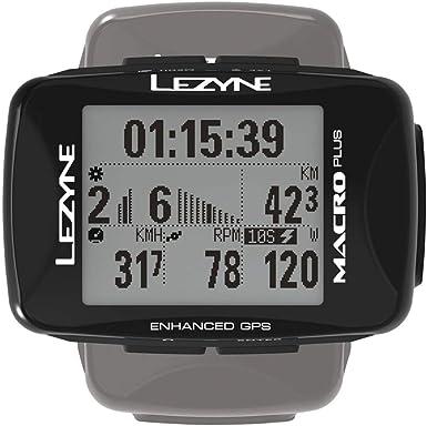 LEZYNE Macro Plus - Contador GPS para Bicicleta o montaña, Unisex ...