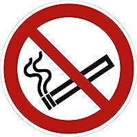 Pegatinas prohibido fumar 10 cm de diámetro