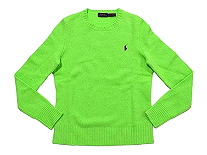 1ef432e45 Image Unavailable. Image not available for. Color  Polo Ralph Lauren  Women s Wool Cashmere Crew-Neck Sweater ...