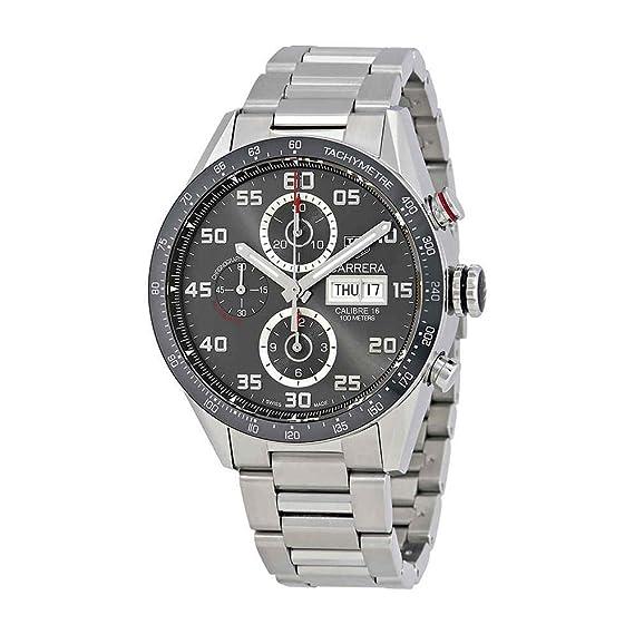 TAG Heuer Carrera Reloj de Hombre automático 43mm CV2A1U.BA0738: Amazon.es: Relojes