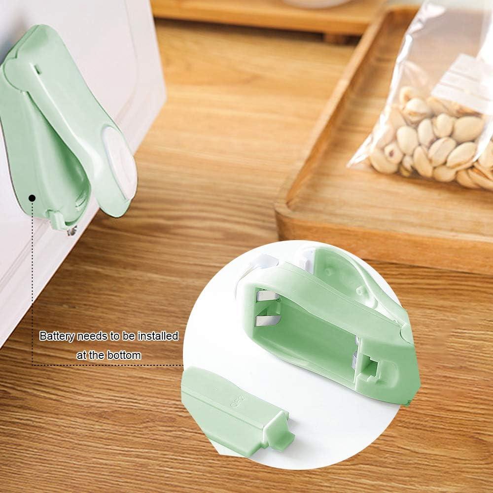 Urijk Folienschweißgeräte Tüten-Schweißgerät Plastikschweißgerät Tütenverschließer Schweißgerät Mini-Heißsiegelmaschine 1 Stück Grün
