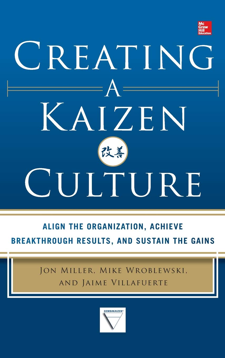 Creating a Kaizen Culture: Align the Organization, Achieve Breakthrough Results, and Sustain the Gains: Amazon.es: Jon Miller, Mike Wroblewski, ...