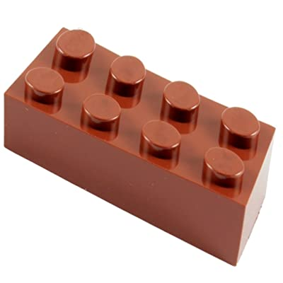 2x4 Brown Building Bricks: Pack of 180, Building Blocks Alternative Option to Leading Brand 2x4 Brown Brick (Brown): Toys & Games