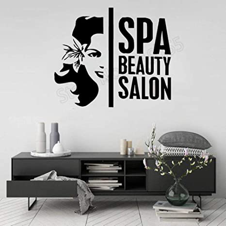 xingbuxin Hair Beauty Salon Logo Stickers Art Post Mural de ...