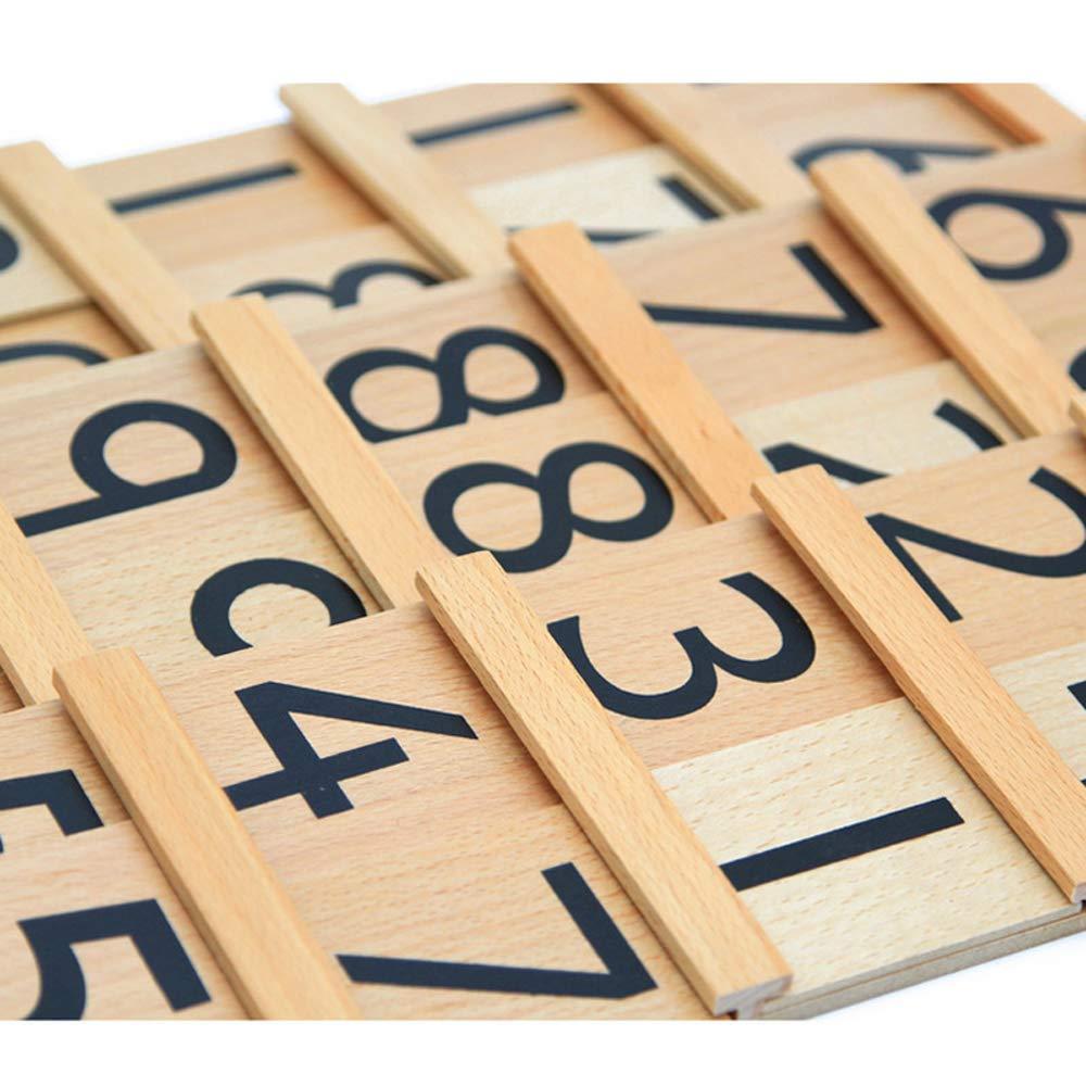 LEADER JOY Montessori Math Materials Teens & Tens Boards Preschool Toddler Toys