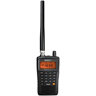 Uniden SR30C Bearcat, 500-Channel Compact Handheld Scanner, Close Call RF Capture Technology, Turbo Search, PC Programming, NASCAR, Auto Racing, Public Safety, Police, Fire, EMS, Marine, Civil Air: Electronics