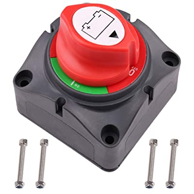 Battery Switch Battery Disconnect Master Cutoff Switch