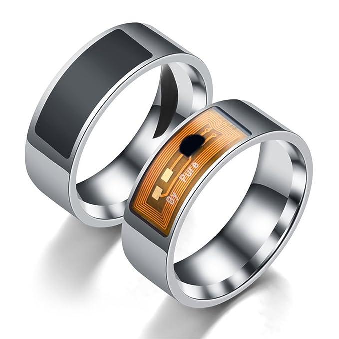 10 opinioni per Yeshi- Anello intelligente per smartphone, tecnologia NFC, in acciaio