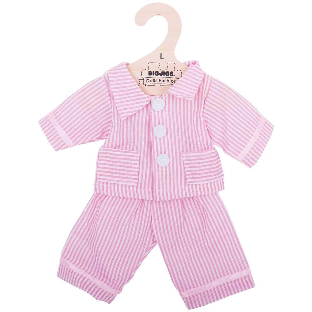 Bigjigs Toys Pyjama Rose pour Une poup/ée de 38/cm