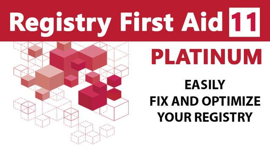 Registry First Aid 11 Platinum - Repair your registry for a faster and more stable PC! Windows 10|8|7|Vista|XP [Download]