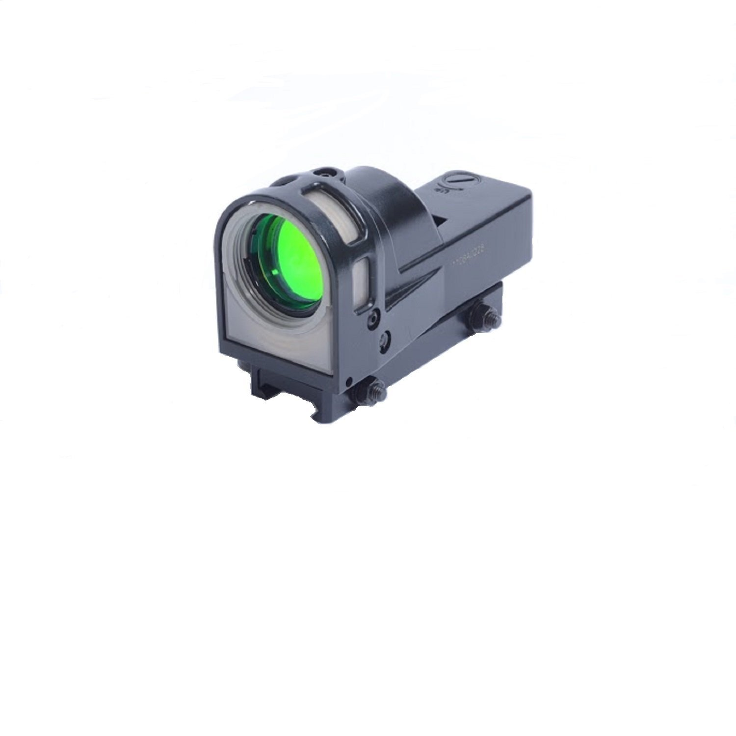 Meprolight Self-Powered Day/Night Reflex Sight with Dust Cover Bullseye Reticle by Meprolight
