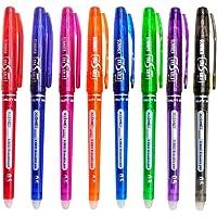 Bolígrafos de tinta de gel borrables, bolígrafos de gel de tinta líquida Hirsrian de 0,5 mm bolígrafos de secado rápido…