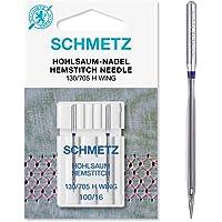 Schmetz con vainica/ala Agujas para máquina de coser, pack de dos, tamaño 100/16–comprar 2, Get 3rd paquete libre.