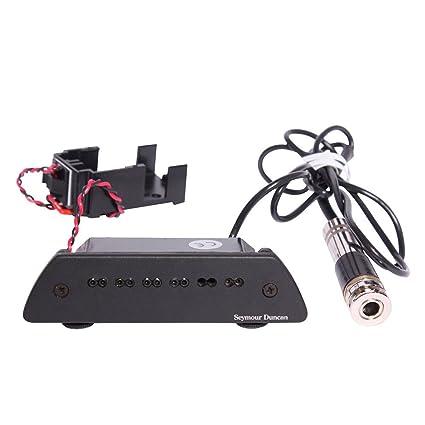 Amazon.com: Seymour Duncan SA-6 Mag Mic Acoustic Soundhole Mic ...