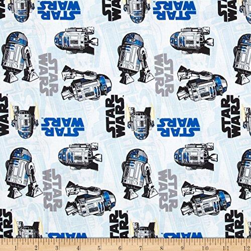 Star Wars R2D2 White Fabric (R2d2 Fabric)