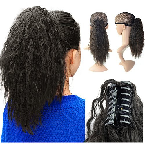 15'' Claw Ponytail Clip On Hair Piece
