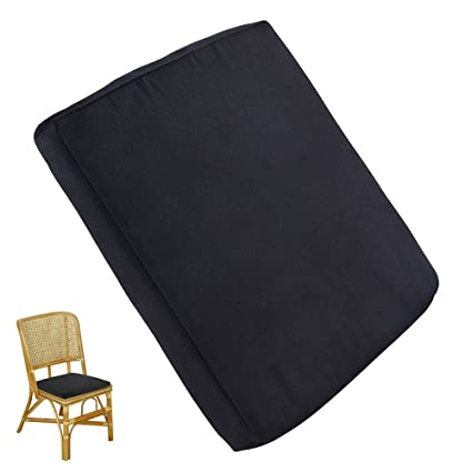 Cool Enjoygous 2 Pack Outdoor Chair Cushions Patio Seat Pads Mat For Dining Chairs Waterproof Removable Cover Foam Nonslip For Outdoor Garden Deck Ibusinesslaw Wood Chair Design Ideas Ibusinesslaworg