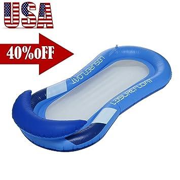Amazon.com: VEZARON - Flotador hinchable para piscina con ...
