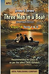 Three Men in a Boat (With Annotations) Class - IX Paperback
