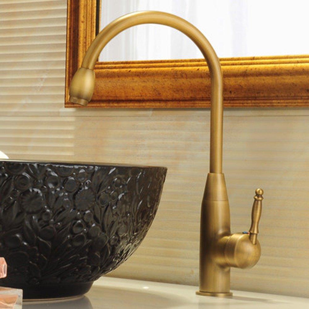 Cqq faucet Full Copper Retro Faucet