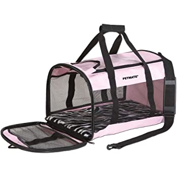 Amazon Com Petmate Soft Sided Kennel Cab Small Pet