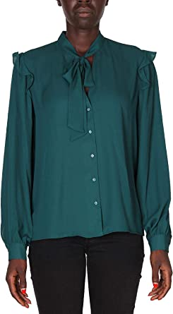 Pepe Jeans Blusa Finn Verde Mujer x-Large Verde: Amazon.es: Ropa