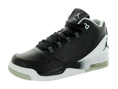 the latest 71255 5b43a Image Unavailable. Image not available for. Color  Jordan Nike Kids Flight  Origin 2 Bg Black Black White Grey Mist Basketball