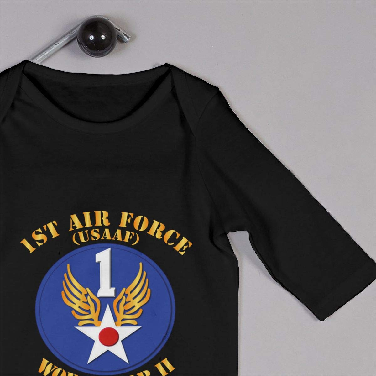 Gsaa AAC 1st Air Force Baby Long Sleeve Bodysuit Cotton Romper