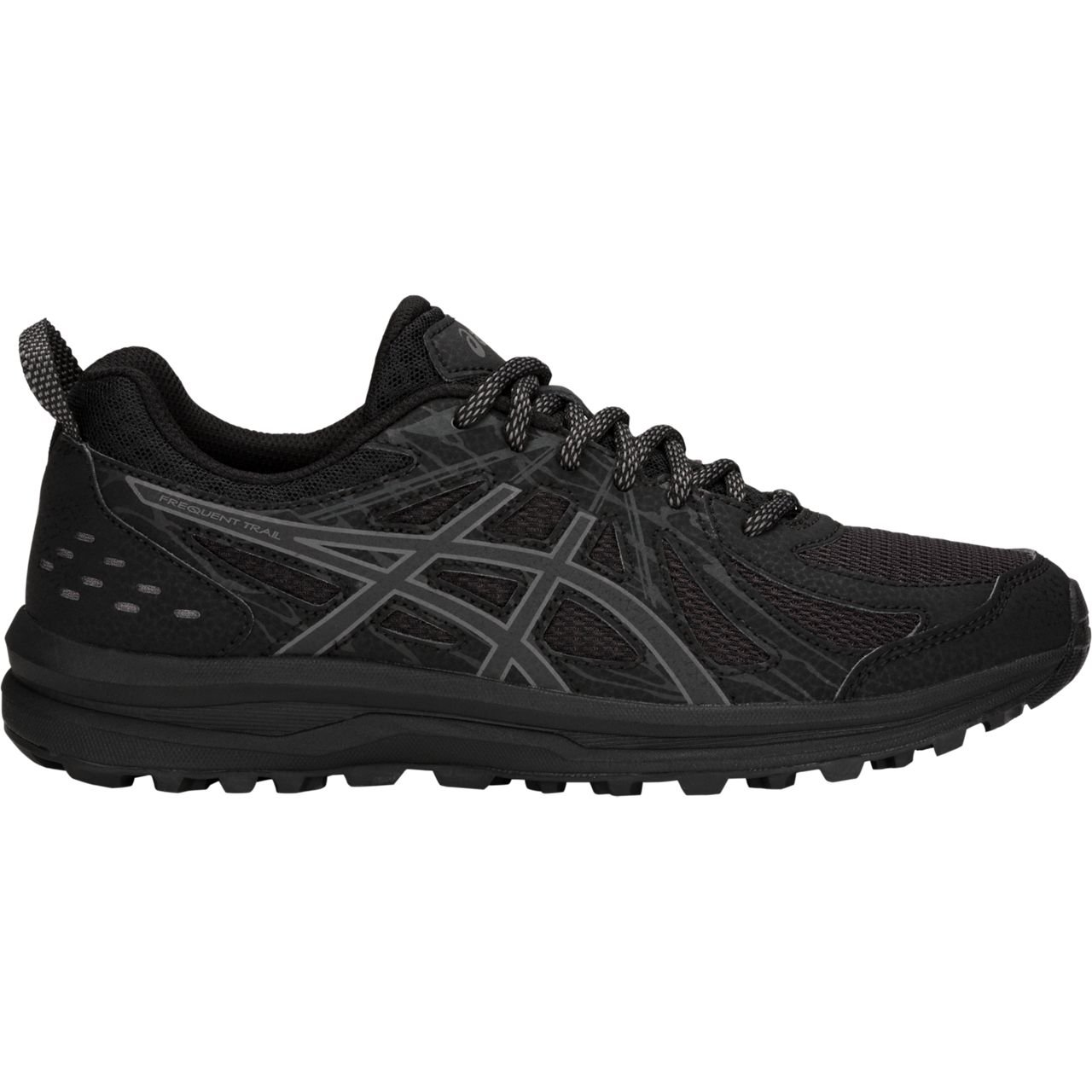 ASICS Women's Frequent Trail Running Shoe B07884L2B5 6 D US|Black/Carbon