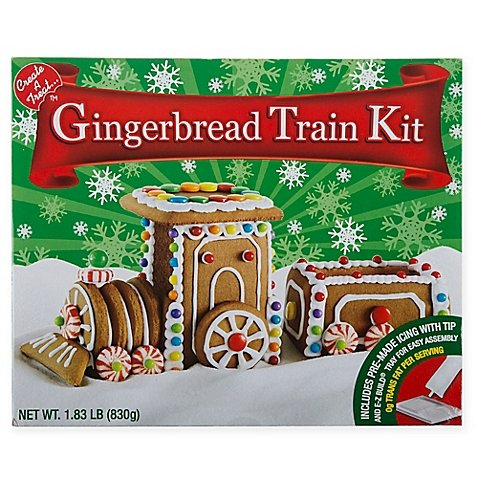 amazoncom create a treat create a treat gingerbread ginger bread train kit 183 lb grocery gourmet food