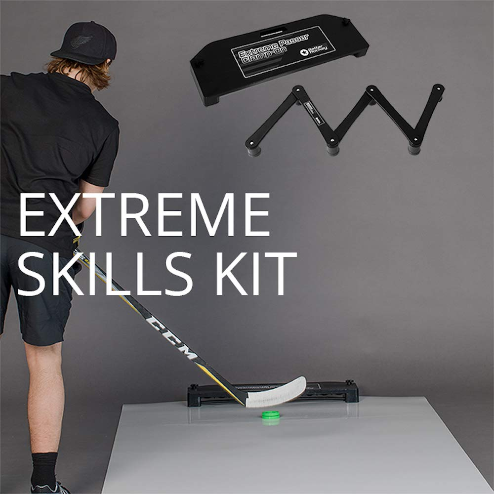 Better Hockey Extreme Hockey Skills Kit - Great for Shooting, Passing and Stickhandling