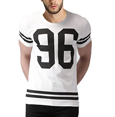 46f872dc GALLOP Mens Number Printed Tshirt-96: Amazon.in: Clothing & Accessories