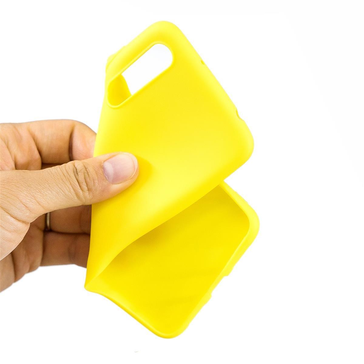 Lavanda Colore Puro Custodia Flessibile in Silicone TPU Caso Ultra Sottile Design Premium Custodia Protettiva Anti-graffio in plastica Anti-graffio Meeter Cover per Huawei P8 Lite 2017