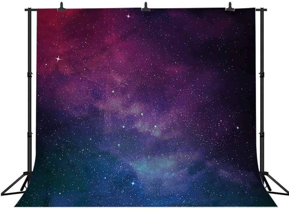 8x8FT Vinyl Photo Backdrops,Star,Dreamy Universe Exploration Photo Background for Photo Booth Studio Props