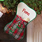 Personalized Pet Stocking (Dog Bone)