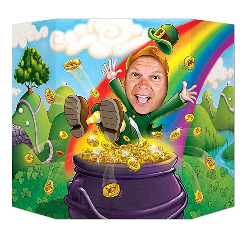 Leprechaun Photo Prop Party Accessory (1 count)