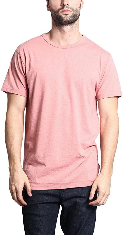 Victorious Men's Hipster Longline Curved Hem Tees
